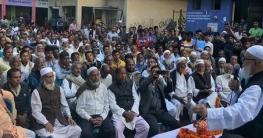 প্রচারনায় ব্যস্ত আলহাজ্ব আতাউর রহমান খান