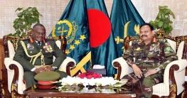 বাংলাদেশ সেনাপ্রধানের সঙ্গে জাম্বিয়ার সেনা কমান্ডারের সাক্ষাৎ