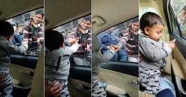 অমূল্য ১০ টাকা: শিশুর প্রতি রিকশাওয়ালার বিরল ভালোবাসা