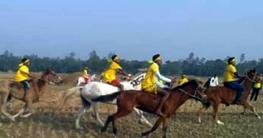 ধনবাড়ীতে ঐতিহ্যবাহী ঘোড়দৌড় প্রতিযোগিতা অনুষ্ঠিত