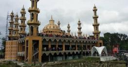 উদ্বোধনের প্রহর গুনছে গোপালপুরের ২০১ গম্বুজ মসজিদ