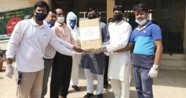 সখীপুর-বাসাইল স্বাস্থ্য কমপ্লেক্সে আতাউল মাহমুদের পিপিই প্রদান