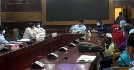 টাঙ্গাইলে জেলা করোনা ট্রাস্ট ফোর্সের আলোচনা সভা অনুষ্ঠিত