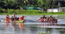 টাঙ্গাইলে ঐতিহ্যবাহী নৌকা বাইচ অনুষ্ঠিত