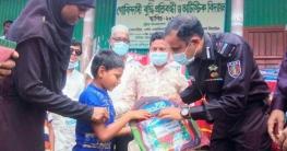 ভূঞাপুরে র্যাবের উদ্যোগে সেলাইমেশিন ও স্কুল ব্যাগ বিতরণ