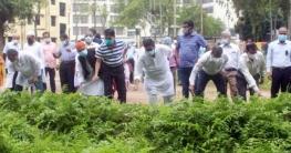 টাঙ্গাইলে হাসপাতাল চত্বর পরিস্কার-পরিচ্ছন্নতা কার্যক্রমের উদ্বোধন