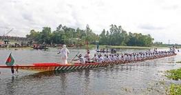 কালিহাতীতে নৌকাবাইচ প্রতিযোগিতা অনুষ্ঠিত