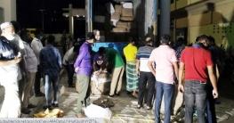 মির্জাপুরে অবৈধপথে আনা ভারতীয় শাড়ি জব্দ