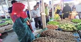 টাঙ্গাইলে বেশি দামে বিক্রি করায় ১৩ আলু ব্যবসায়ীর জরিমানা
