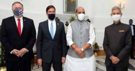 চীনকে ঠেকাতে যুক্তরাষ্ট্র-ভারতের প্রতিরক্ষা চুক্তি
