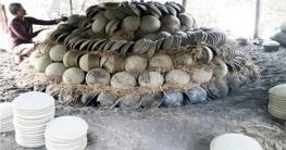 হারিয়ে যেতে বসেছে টাঙ্গাইলের মৃৃৎশিল্প