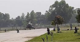 টাঙ্গাইলে বিমান বাহিনীর বার্ষিক শীতকালীন মহড়া