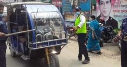 টাঙ্গাইলে ঈদকে সামনে রেখে পুলিশ টহল জোরদার