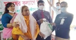 টাঙ্গাইলে অসহায়দের ঈদ উপহার বিকাশে দিল 'মানুষের কল্যাণে মানুষ'
