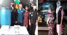 মির্জাপুরে হেরোইন ও চোলাই মদসহ ৩ জনকে গ্রেফতার করেছে র্যাব