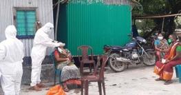 কালিহাতীতে করোনা বুথ স্থাপন করে নমুনা সংগ্রহ