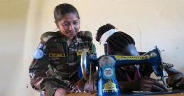 দক্ষিণ সুদানের নারীদের স্বাবলম্বী করছেন বাংলাদেশি সেনারা