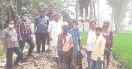 রৌমারীতে ৩০ একর কৃষি জমির জন্য সেঁচ পাম্প স্থাপন