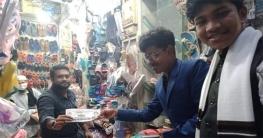 টাঙ্গাইল পৌর নির্বাচনে ভোট চাইলেন স্কুল ছাত্র সংসদের আহবায়ক