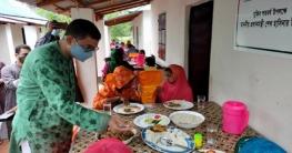 কুমিল্লায় আশ্রয়ণ প্রকল্পের ঘরে ঘরে ঈদের আনন্দ