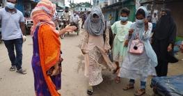 বকশীগঞ্জে লকডাউন কার্যকরে ভ্রাম্যমাণ আদালতে জরিমানা