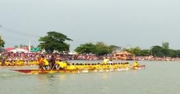 বাসাইলে ঐতিহ্যবাহী নৌকা বাইচ অনুষ্ঠিত