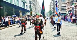 মেক্সিকোর স্বাধীনতা দিবসে বাংলাদেশ সশস্ত্র বাহিনী
