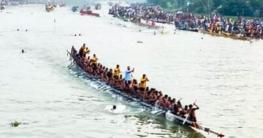 উল্লাপাড়ায় তানভীর ইমাম নৌকা বাইচের ফাইনাল প্রতিযোগিতা অনুষ্ঠিত